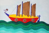 Het schip van de Compagnie. Altijd op de uitkijk naar nieuwe verhalen.