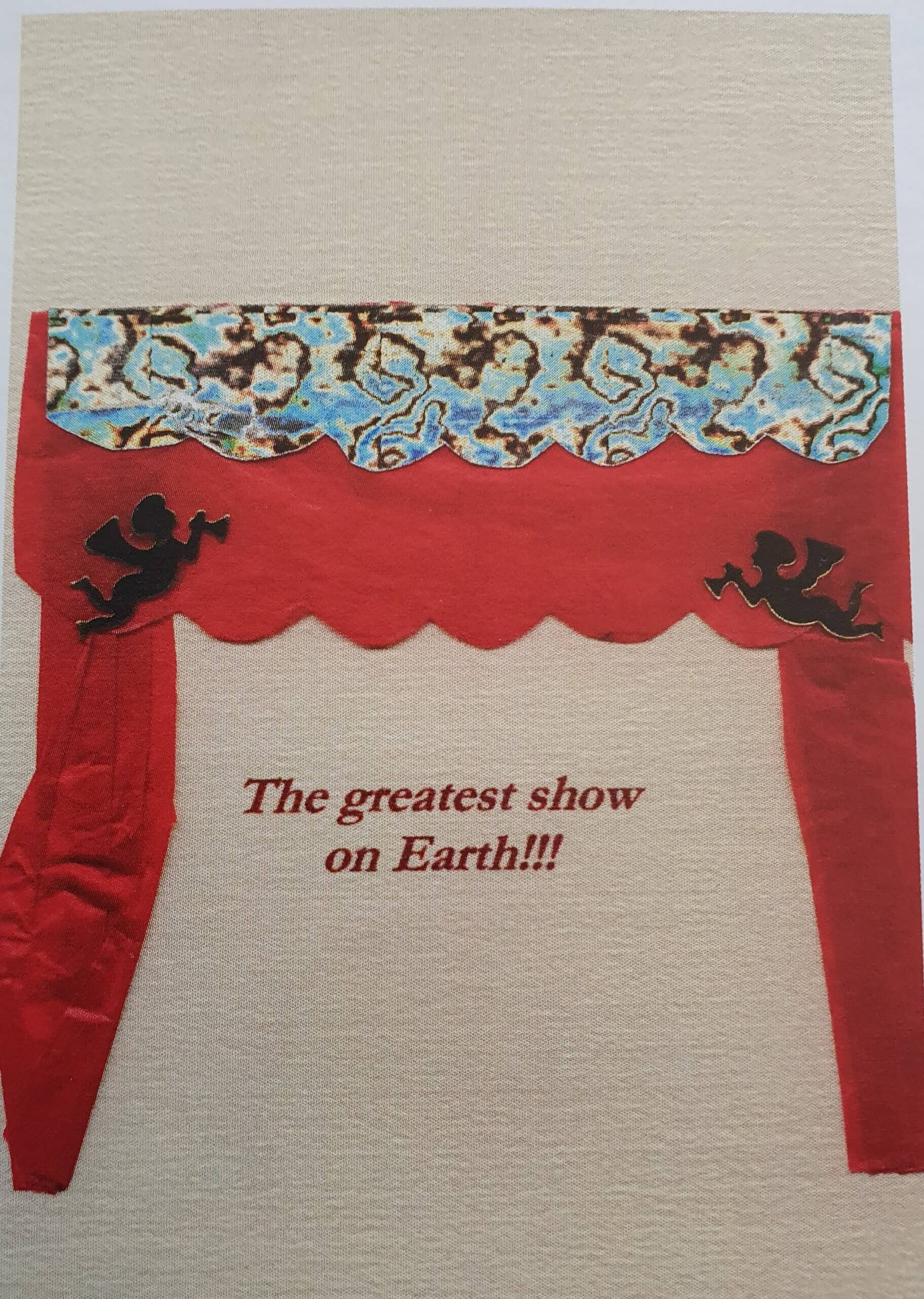 The greatest show on earth. Kerstkaart 2000.